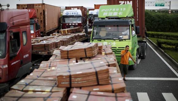 El cobre se mantenía cerca del máximo de 27 meses que anotó en septiembre de US$ 6,877.50. (Foto: Reuters)