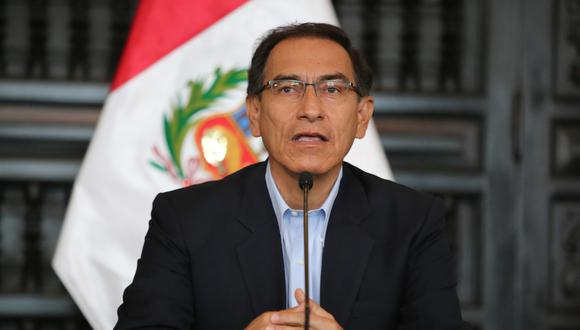 """Martín Vizcarra respondió a Pedro Chávarry, quien dijo que se está investigando a la campaña de PPK por presuntos aportes del """"club de la construcción"""". (TV Perú)"""