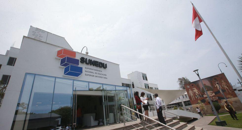 Sunedu continúa evaluando el licenciamiento de 20 universidades. (Foto: GEC)