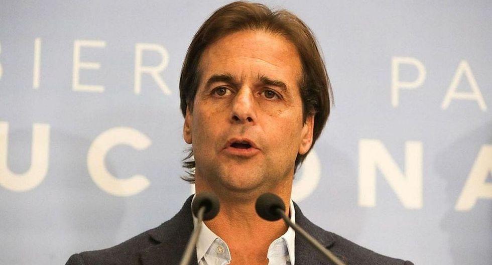 Luis Alberto Lacalle Pou, candidato presidencial en Uruguay por Partido Nacional. (Foto: EFE)