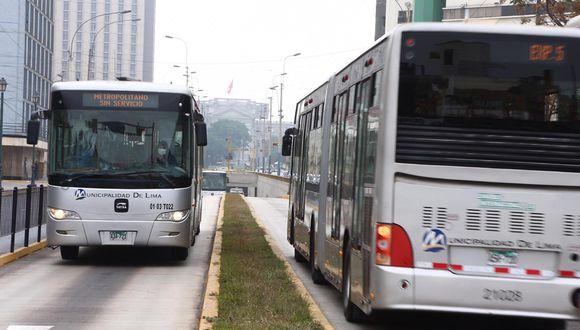 Las empresas operadoras del Metropolitano han acordado suspender la prestación del servicio a partir del 15 de julio. (Foto: GEC)