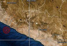 IGP: sismo de magnitud 5,1 se reportó en Caravelí, Arequipa