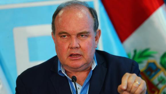 Rafael López Aliaga postulará a la presidencia en cinco años. (Foto: GEC).