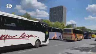 Coronavirus empresas alemanas de autobuses reclaman ayuda del Estado