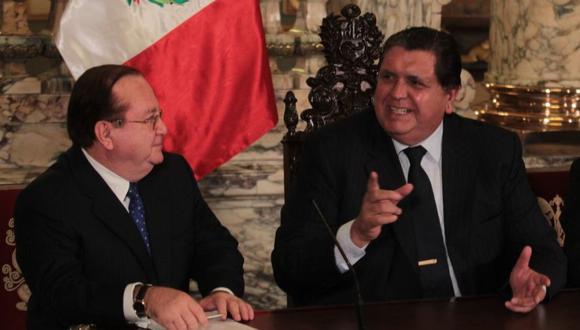 Luis Nava y Alan Garcia. (Foto: USI)