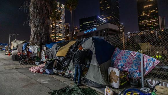 Las autoridades sanitarias de Estados Unidos preocupadas pues que millones de personas se queden sin vivienda podrían propagar más el virus. (Foto referencial de Apu Gomes / AFP).
