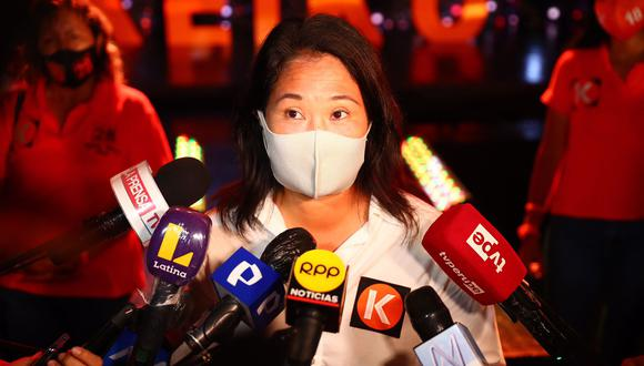 """Fujimori Higuchi indicó que respetará el """"sistema judicial del país"""" y no afectará la investigación que el Ministerio Público le sigue por lavado de activos. (Foto: Hugo Curotto / @photo.gec)"""