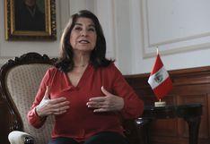 """Martha Chávez: """"No hay que confundir errores o falta de transparencia con corrupción"""""""