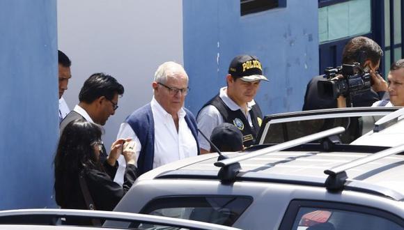 El expresidente PPK ya había sido internado en una clínica el día de la audiencia anterior en la que se evaluó el pedido de prisión preventiva en su contra. (Foto: GEC)