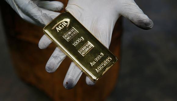 Los futuros del oro en Estados Unidos mejoraban un 0,2%, a US$ 1.869,60 dólares. (REUTERS)