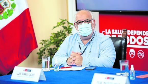 Luis Suárez-Ognio renunció al cargo de viceministro de Salud tras la salida de Pilar Mazzetti. (Foto: GEC)
