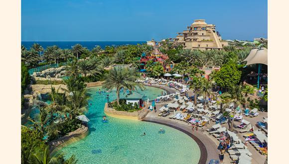 Aquaventure Waterpark at Atlantis, The Palm – Dubai.