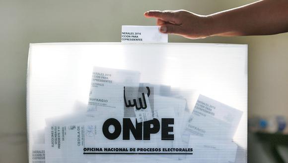 Las Elecciones Generales 2021 se realizarán el domingo 11 de abril del 2021. (Foto: ONPE)