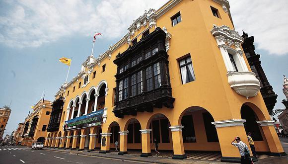 Municipalidad de Lima (Foto: GEC)