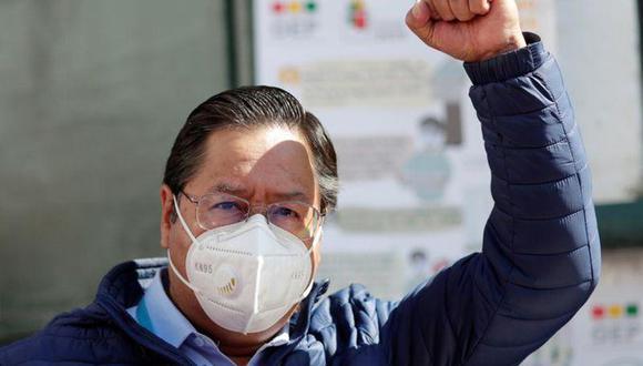 Luis Arce. (Foto: Reuters)