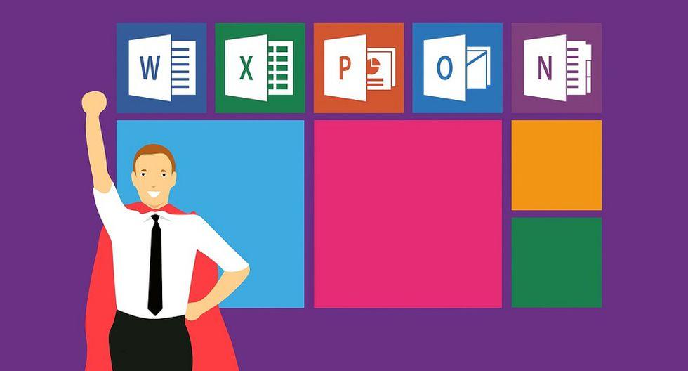 Con estos cursos de Microsoft Office, que incluyen Word, Excel, Power Point, Outlook y Access, se convertirá en un experto (Foto: Pixabay)